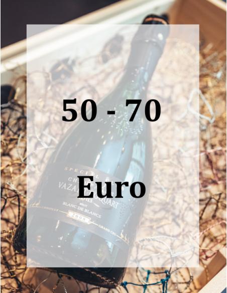 50 - 70 Euro
