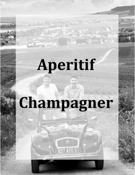 Leichter Aperitif-Champagner