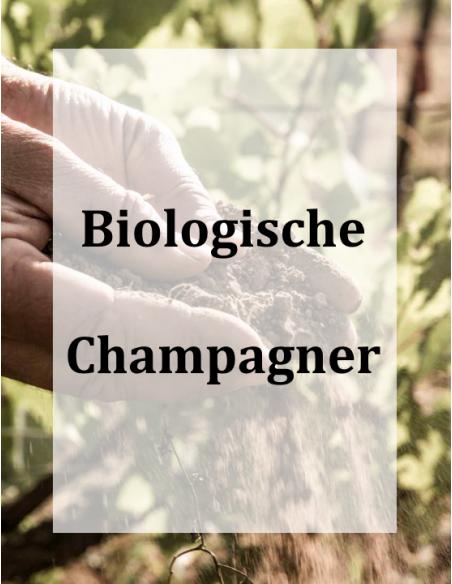Biologische Champagner